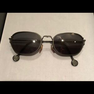LA Eyeworks Jett glasses clips and case for sale